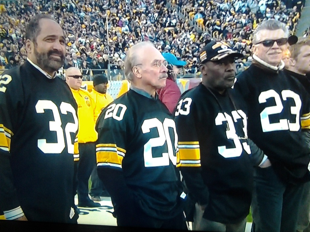 Franco Harris Rocky Blier Frenchie Fuquoa Mike Wagner