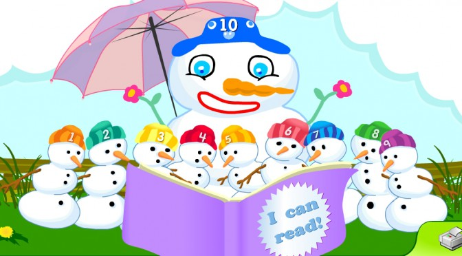 Starfall – Ten Snowmen Learning