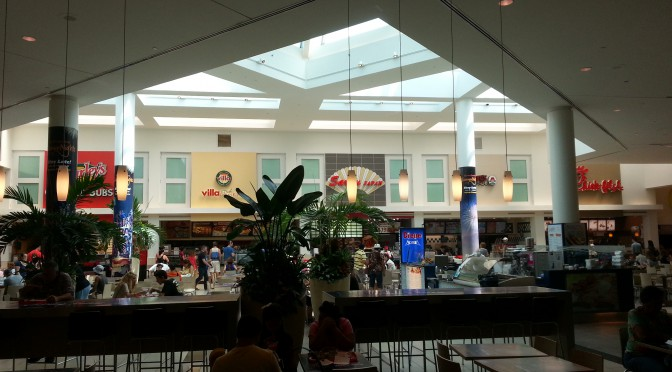 Countryside Mall Food Court Sarku Japan