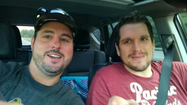 Tommy and Mike Driving To Charlotte