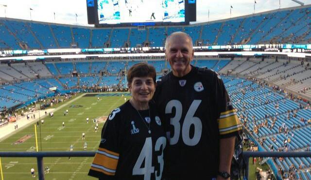 Go Steelers at Carolina