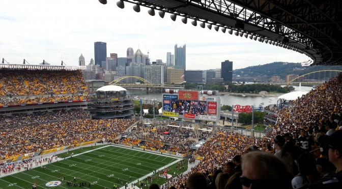 Steelers vs Buccaneers at Heinz Field