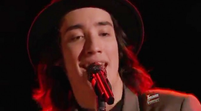"Taylor John Williams – ""Stuck in the Middle with You"" – The Voice 2014 Live Playoffs"