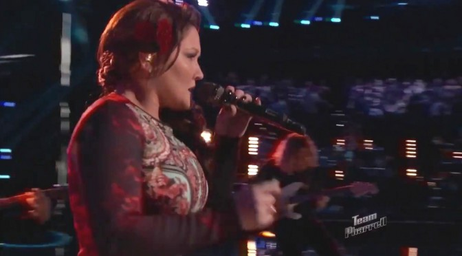 "DaNica Shirey: ""Help Me"" – The Voice 2014 Live Playoffs"