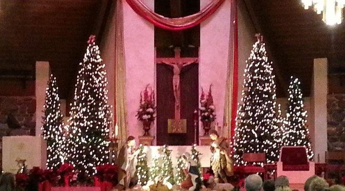 Christmas Eve at St. Ignatius of Antioch Roman Catholic Church
