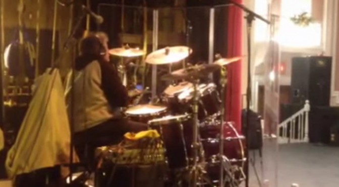 Jerry Leoni Live Drums Video