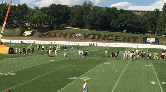 Pittsburgh Steelers Training Camp at St. Vincent College in Latrobe PA