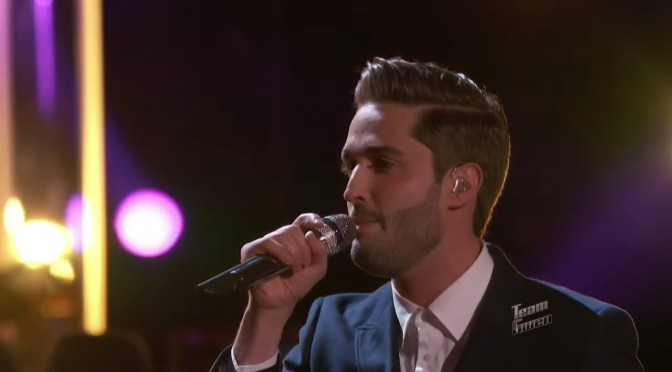"Viktor Király: ""All Around the World"" – The Voice 2015 Live Playoffs"